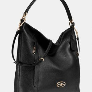 COACH LARGE SCOUT HOBO PEBBLE LEATHER  W/DUST BAG
